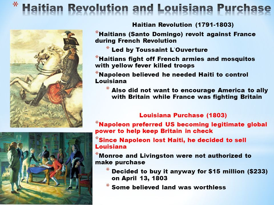 Louisiana purchase essays