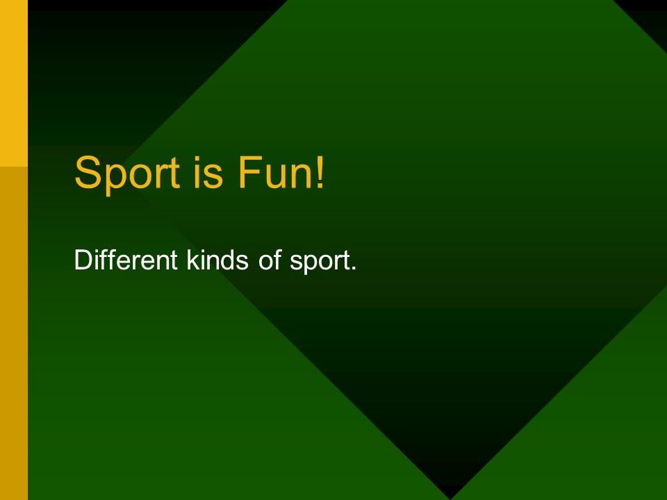 different kinds of sports Parties - we have all been to them there are so many themes and types, but we don't all have time to go to them all.