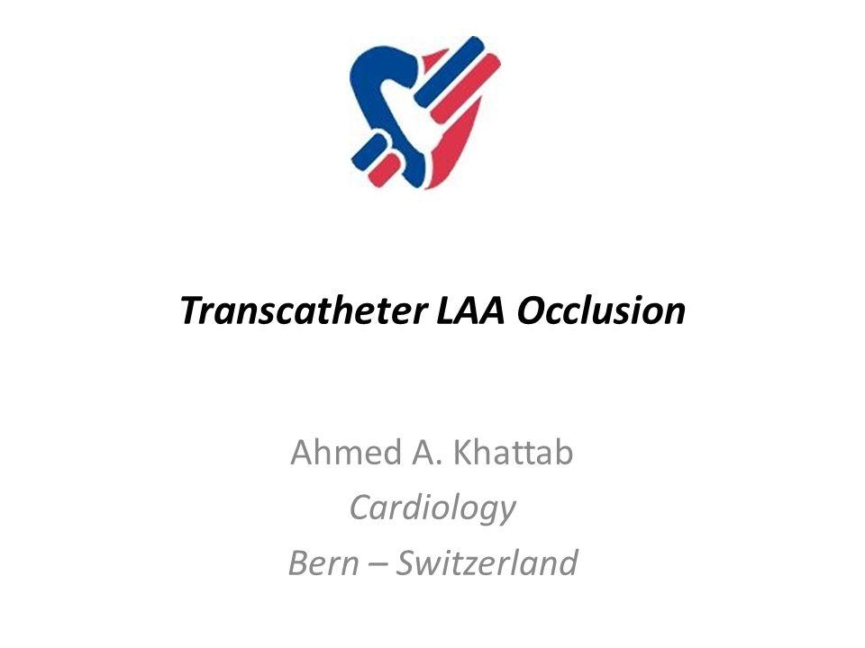Transcatheter LAA Occlusion