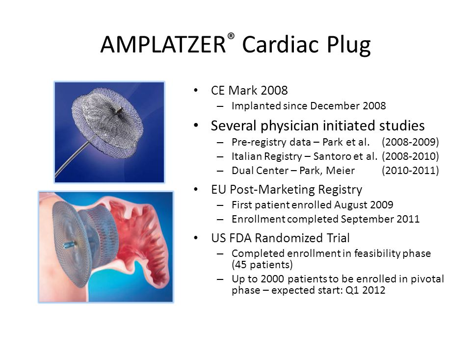 AMPLATZER® Cardiac Plug