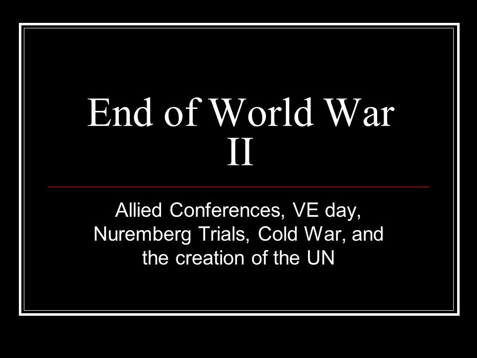 Image result for nuremberg cold war