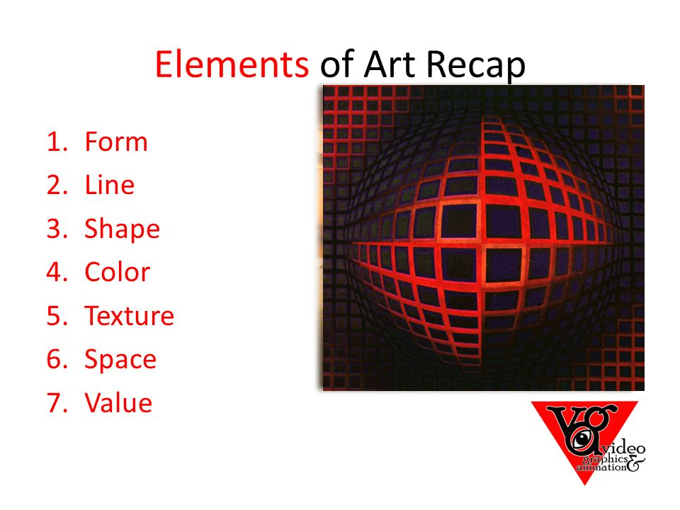 Shape Form And Space In Art : Define line a mark drawn with pointed moving tool ppt