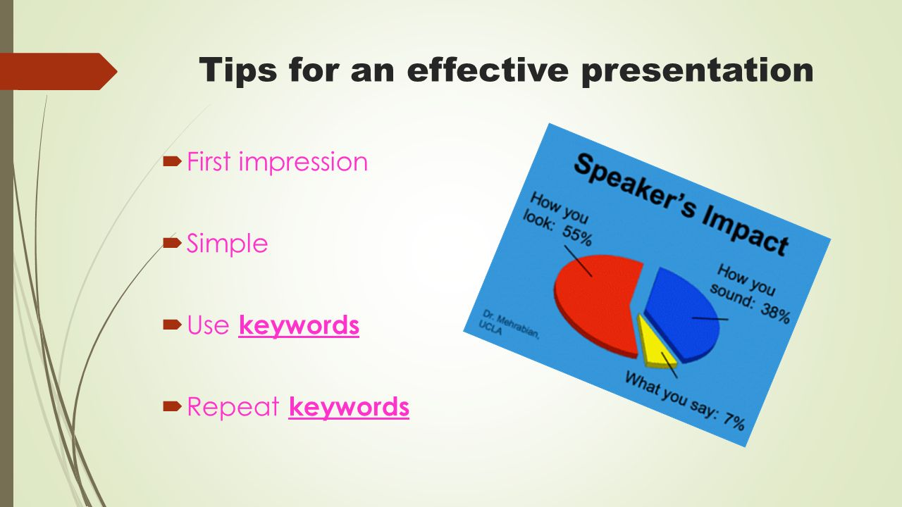 how to make effective presentation pdf