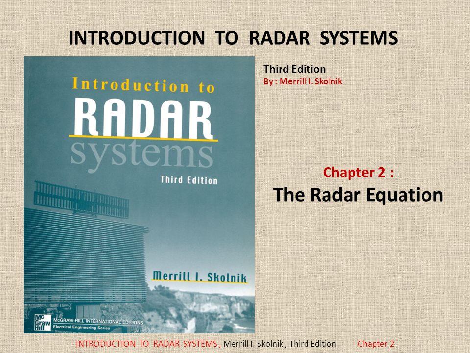 skolnik radar pdf