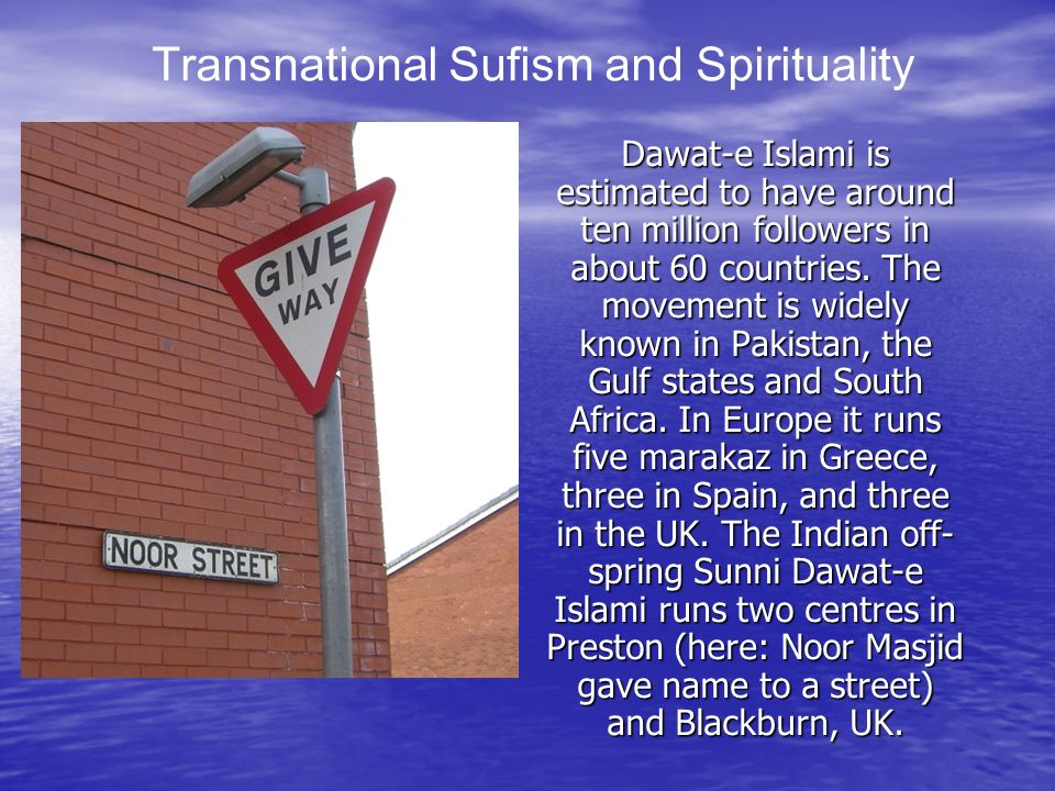 Transnational Sufism and Spirituality