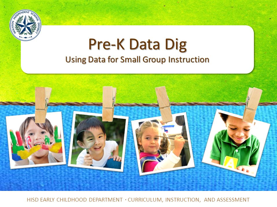Pre K Data Dig Using Data For Small Group Instruction Ppt Video