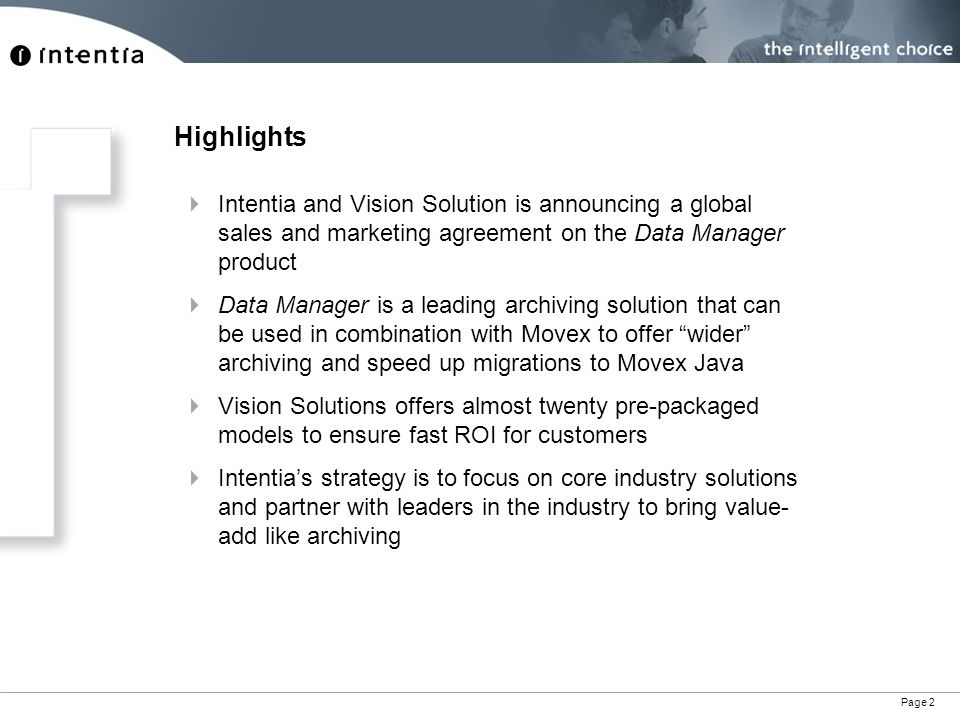 Movex And Data Manager Product Highlights - Ppt Download