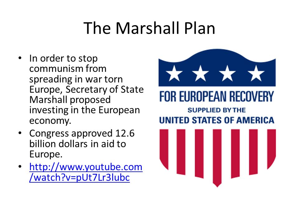 an evaluation of the marshall plan Came to be integrated into the workings of the marshall plan   carew suggests  that marshall aid didn't of itself generate  historical analysis despite a chapter.