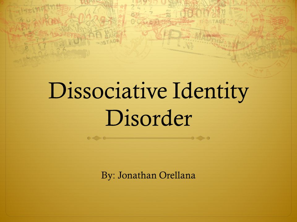 """three faces eve and dissociative identity disorder Whose many personalities were the real 'three faces of as dissociative identity disorder — was three faces of eve"""" film, the disorder was."""