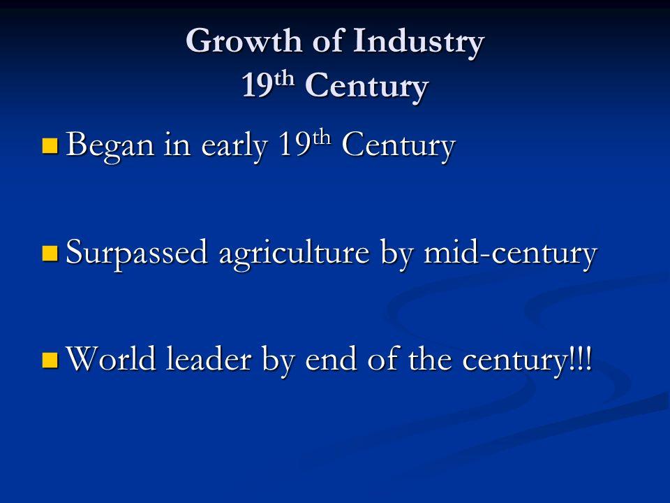 early 19th century social economy