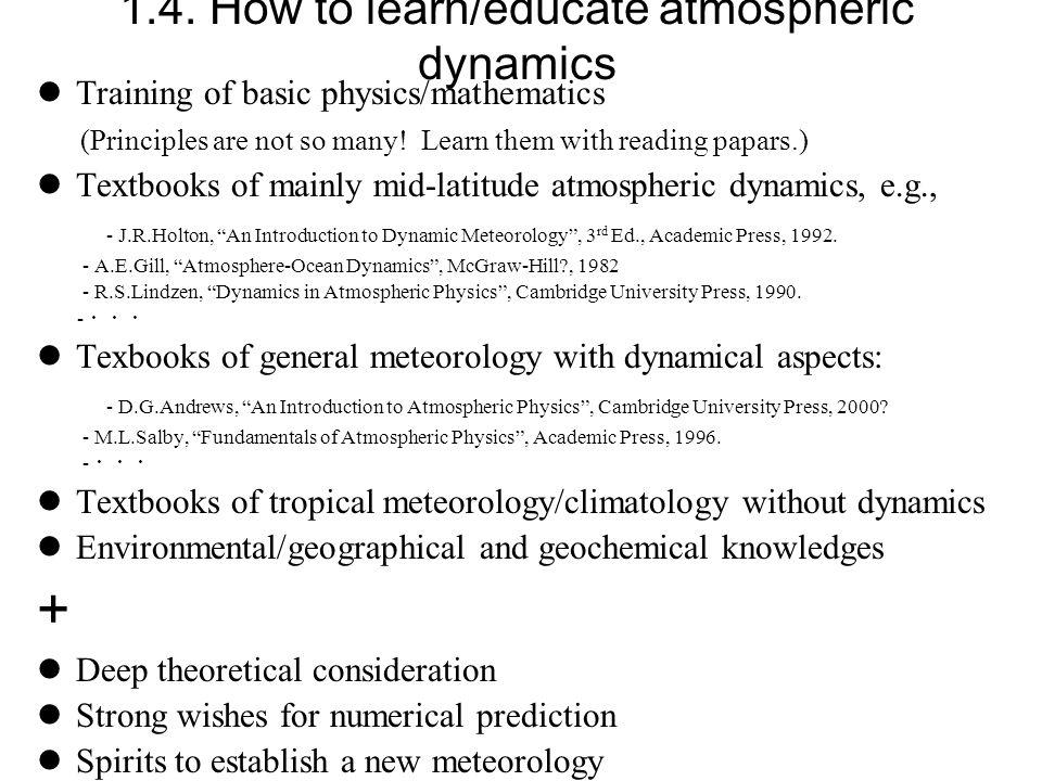 atmosphere ocean dynamics gill pdf