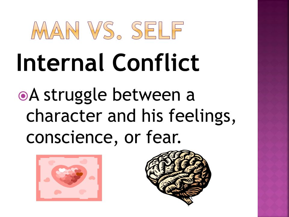 an analysis of the struggle between heart and conscience Get an answer for 'what are the conflicts in the great gatsby by f scott fitzgerald' and find homework help  heart, or conscience)  the great gatsby analysis.