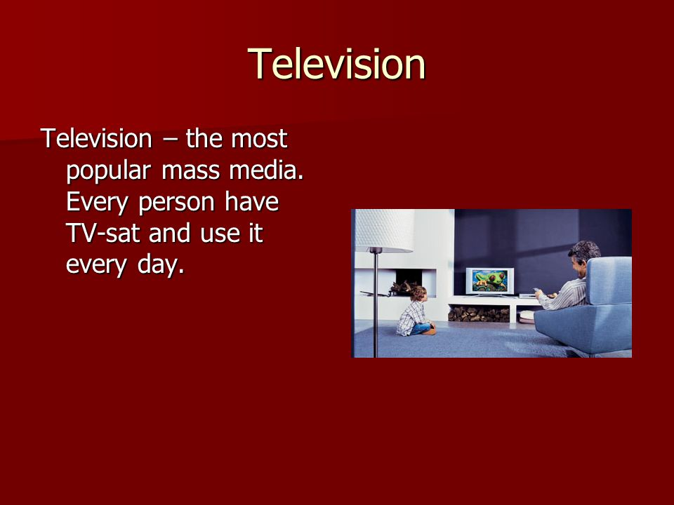 the mass media is the most The mass media are a pervasive, institutional structure in all modern societies and can profoundly influence health-related beliefs and behaviors.