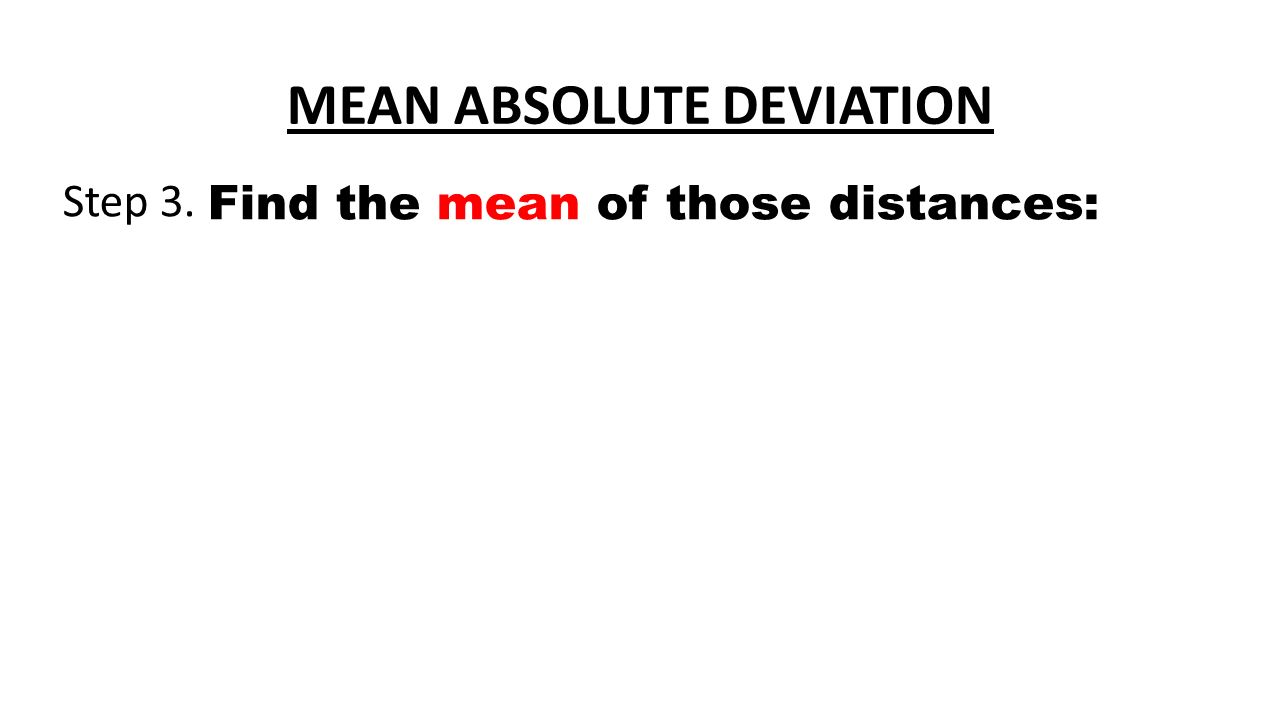 Download The Document How To Find Standard Deviation Mean Absolute Deviation