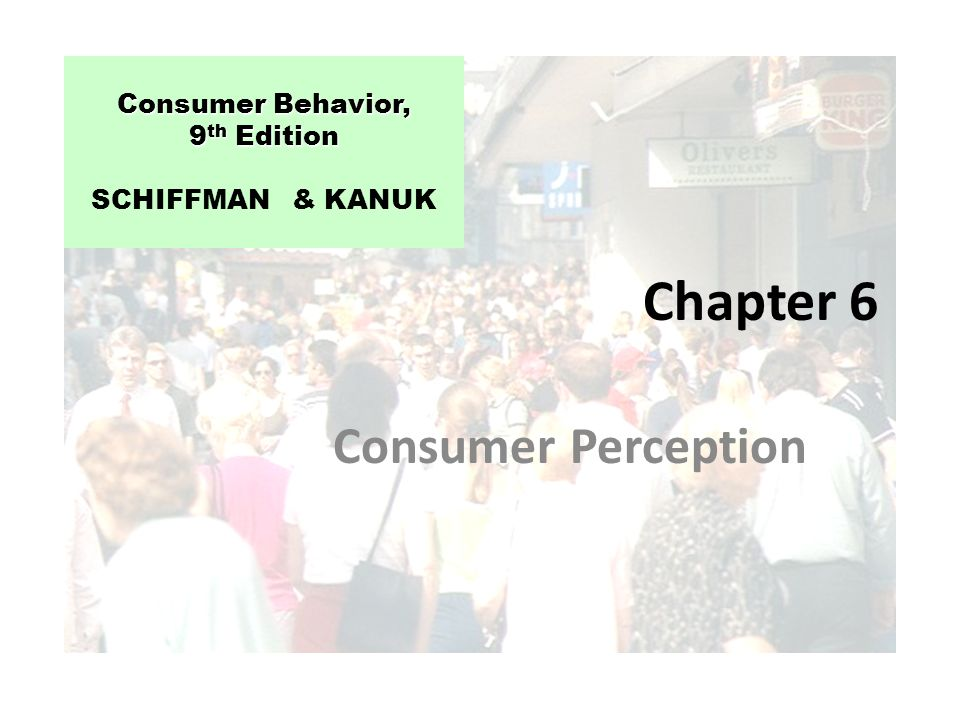 schiffman kanuk consumer Description the second european edition of schiffman and kanuk's classic consumer behaviour focuses not only on what consumers buy, but also why they buy, when they buy, where they buy, how they evaluate their purchase, and how they ultimately dispose of it.