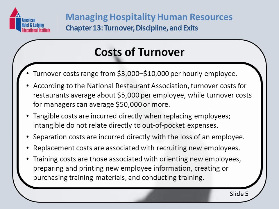 how to calculate mean turnover rate