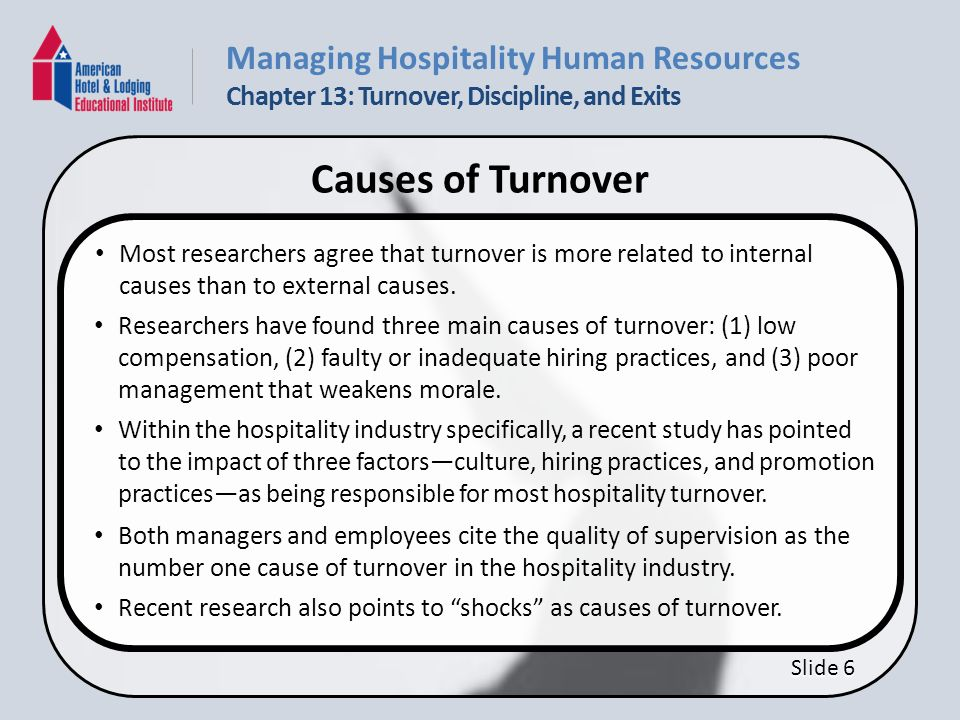 poor communication employee turnover and poor working conditions management essay Pay for performance enhances employee management at scripps health pay for performance enhances employee management at  and high employee turnover.