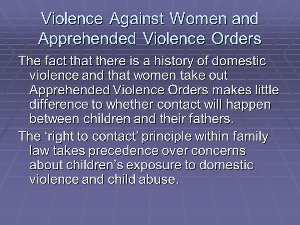 Domestic Violence: Busting the Myths