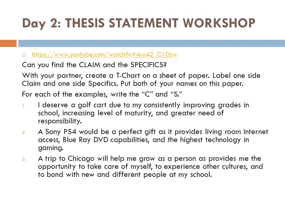 where can one find a thesis statement A thesis statement is one that shows the readers the direction you are going in the thesis so as to decide whether to follow you or not  can a thesis statement.