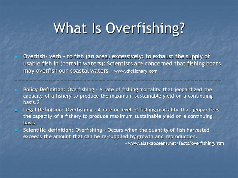 By jordan greenberg and jeremy berkowitz ppt download for Sustainable fishing definition