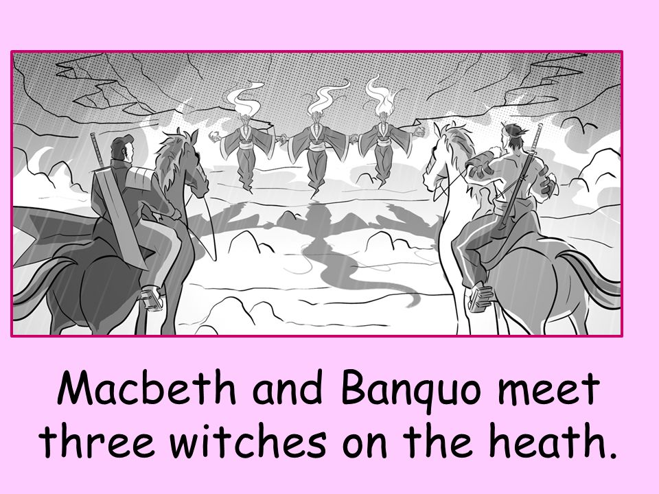 banquo and macbeth meet the witches bible