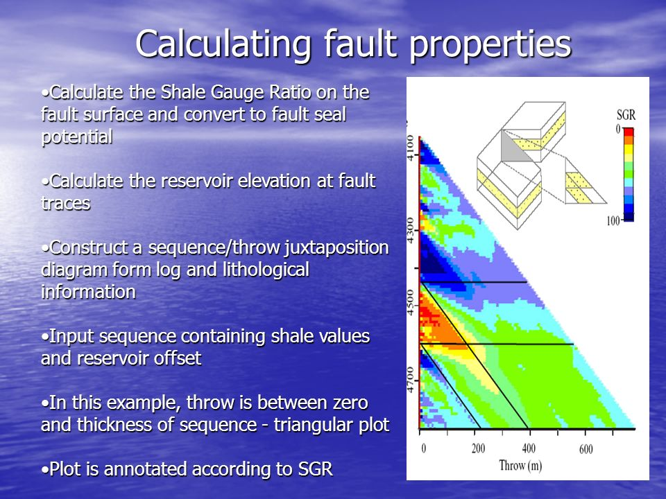 faults as fluid flow barriers and their role in trapping hydrocarbons