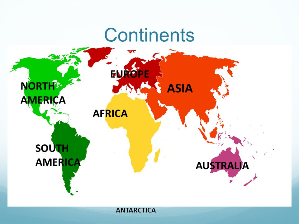 Geography world ppt video online download continents asia europe north america africa south america australia gumiabroncs Image collections