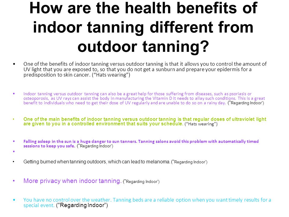 Do Tanning Beds Help You Get Vitamin D