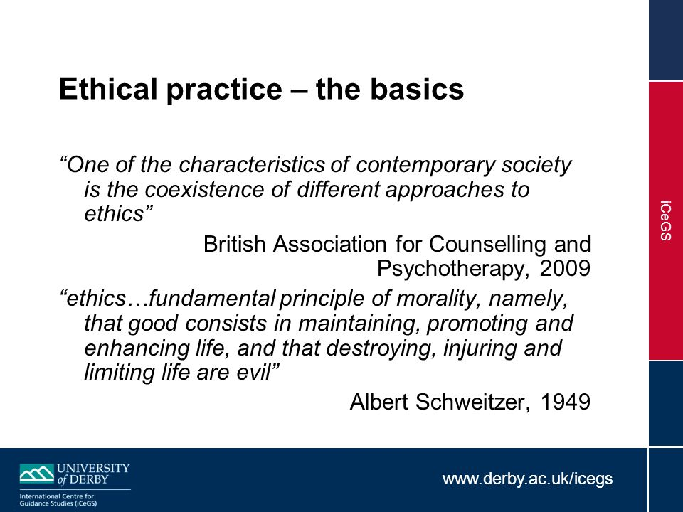 Importance of Professional Ethics in Guidance & Counselling