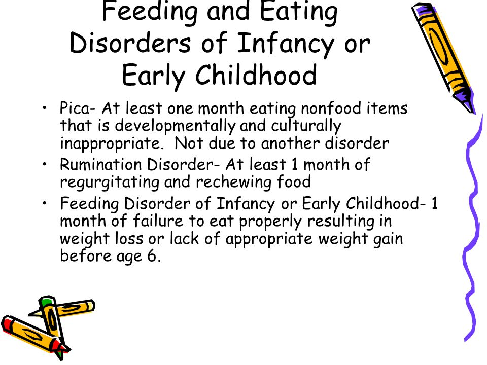 Disorders Usually Diagnosed In Infancy Childhood And