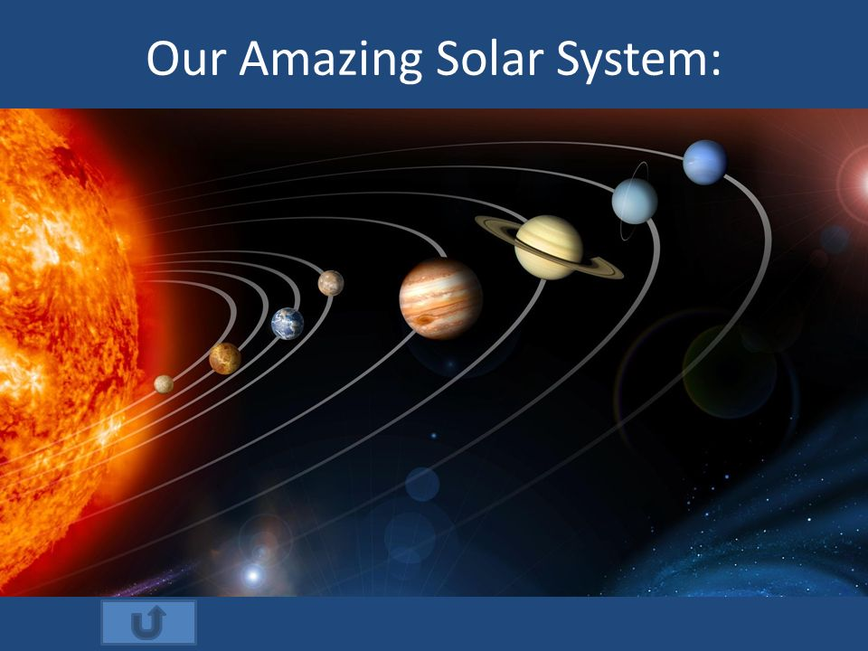 our amazing solar system - photo #1
