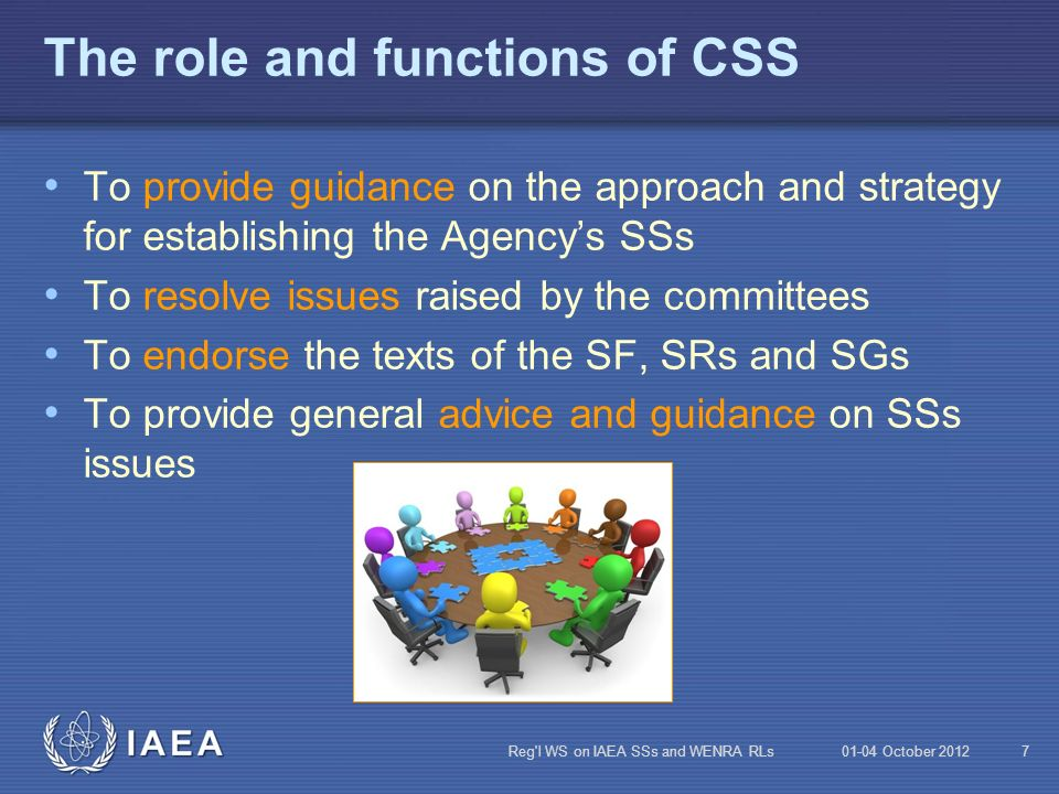 The role and functions of CSS