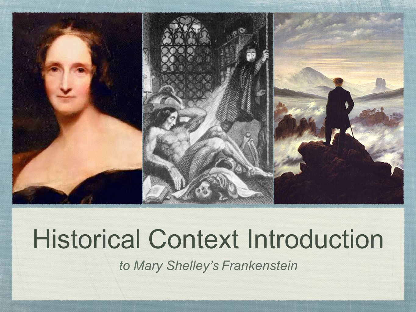 the influence of romanticism in mary shelleys frankenstein We would like to show you a description here but the site won't allow us.