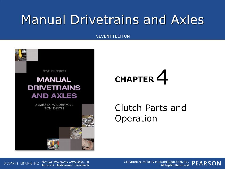 4 Clutch Parts and Operation