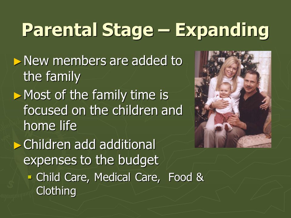 Parental Stage – Expanding