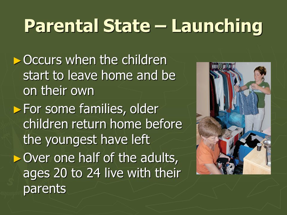 Parental State – Launching