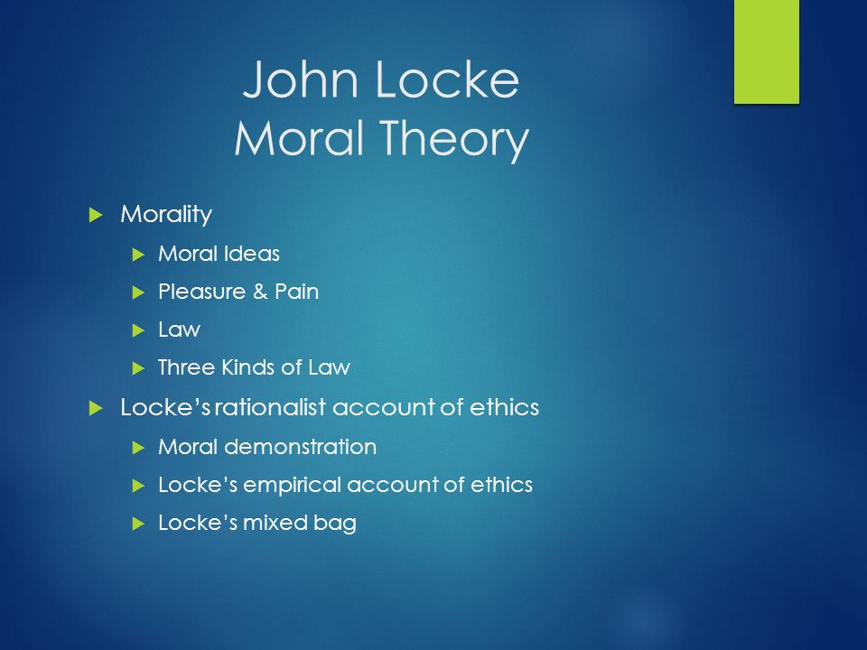 John Locke S Theory Of The State Of Nature