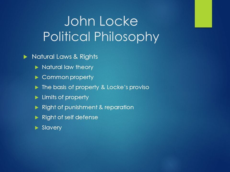john locke s theory of representative realism John locke's theory of representative realism unlike descartes, philosopher john locke did not believe in innate ideas, those which you are essentially born with.