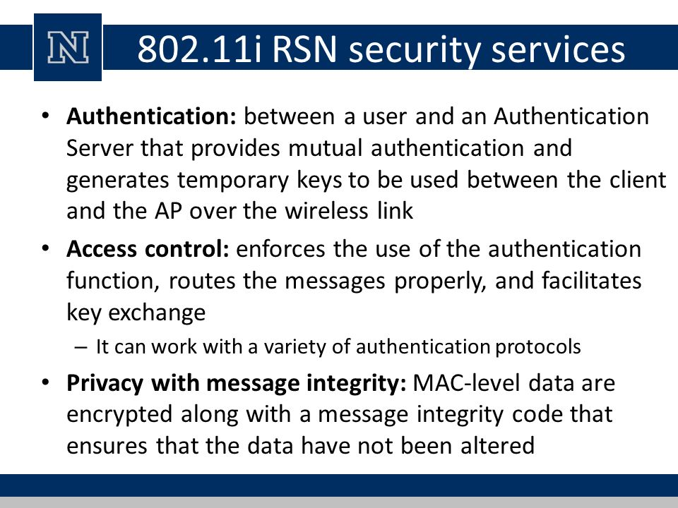 Lecture 24 Wireless Network Security - ppt download