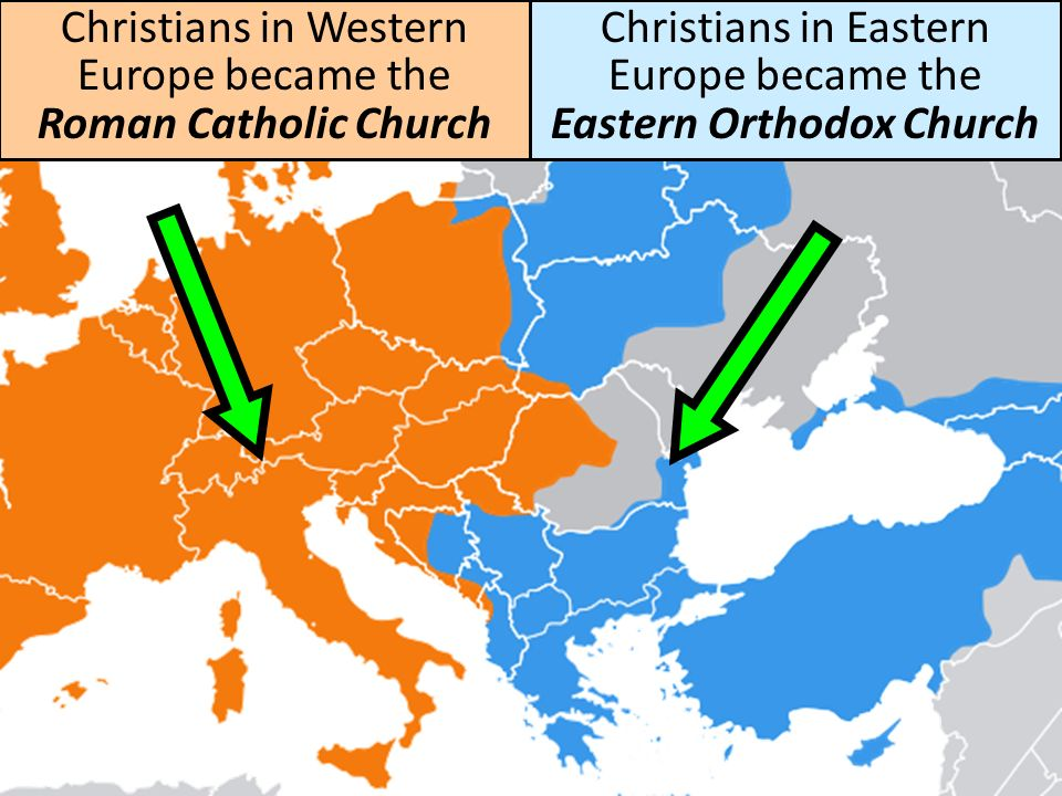 Theological differences between the Catholic Church and the Eastern Orthodox Church