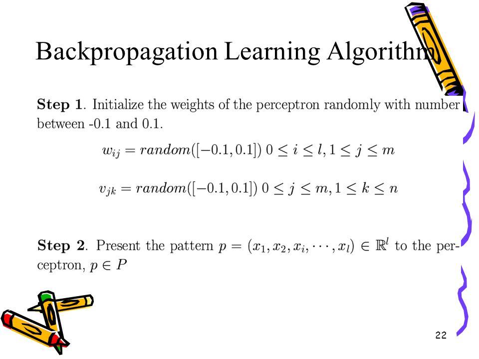 back propagation algorithm in neural network pdf