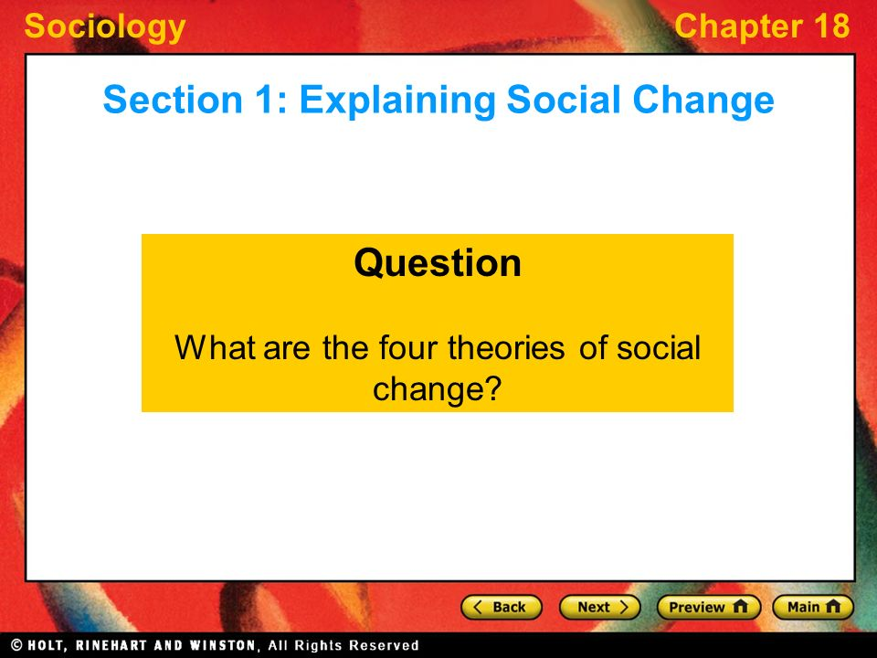 social change and modernization What is social change  modernization –the process of social change begun by industrialization  chapter 24 - social change: traditional, modern & post-modern .