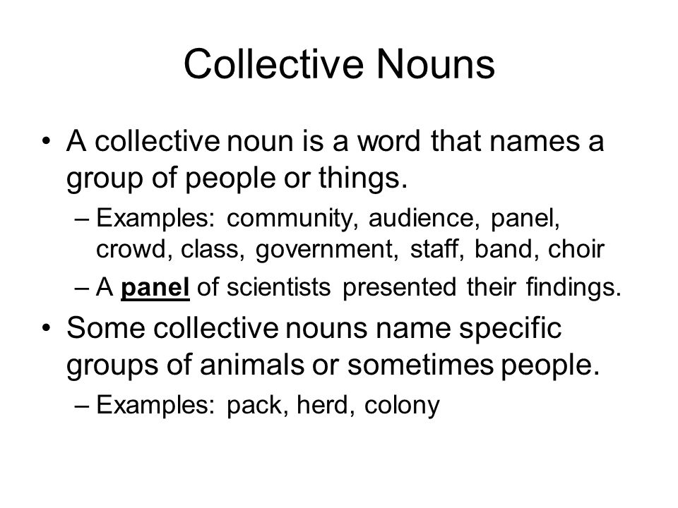 Things Names: Common, Proper, Or Collective