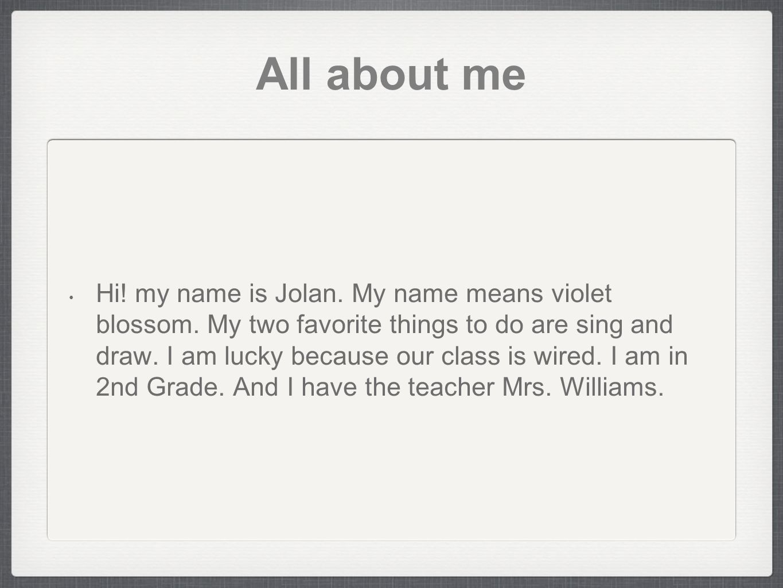 jolan s poem ppt