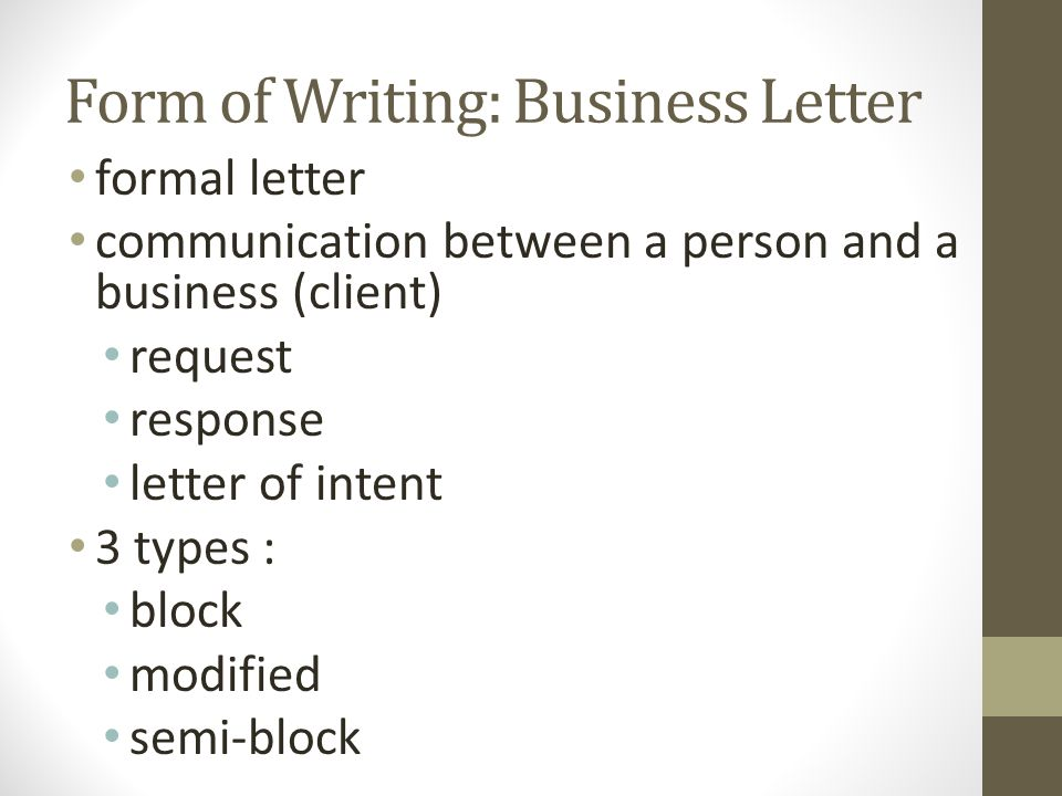 business writing format How to write clear and professional emails writing emails that are short and to-the-point will that will have you writing proper business emails.