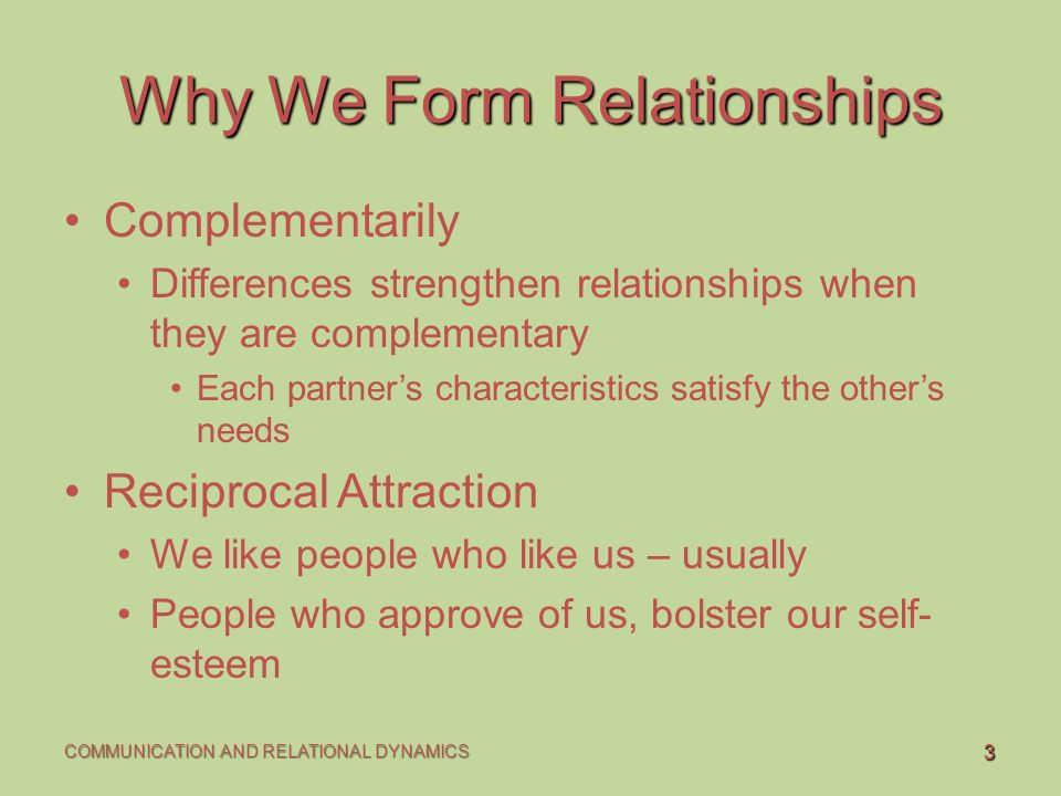 "why we form relationships Relationships are the defining feature of being human as robin dunbar  i  could connect to you, and you and i could form a ""we"" and all of."
