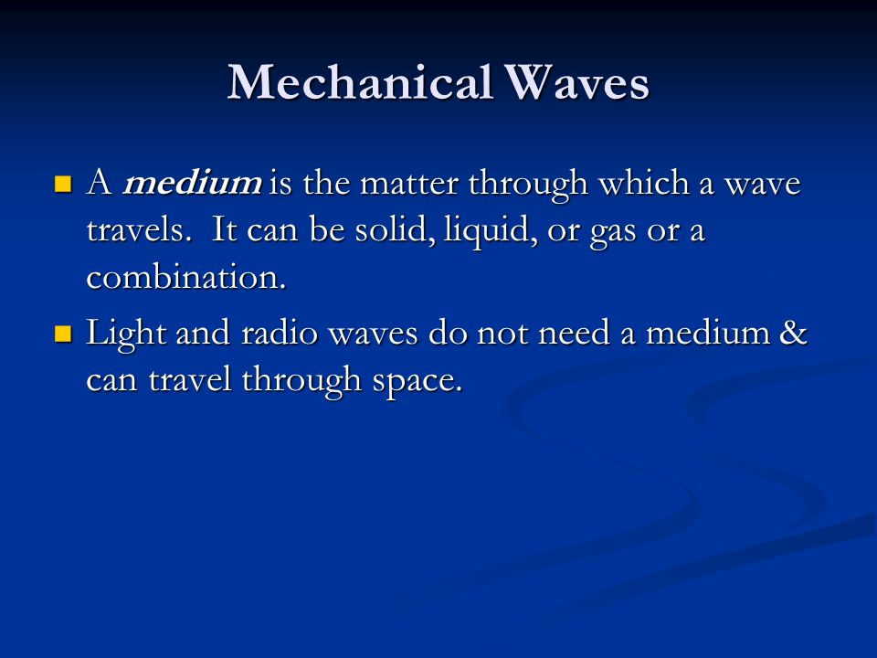 What Can Compressional Waves Travel Through