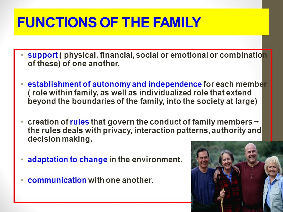 functions of the family The educational functions of the family have evolved significantly throughout history discover the keys with us.