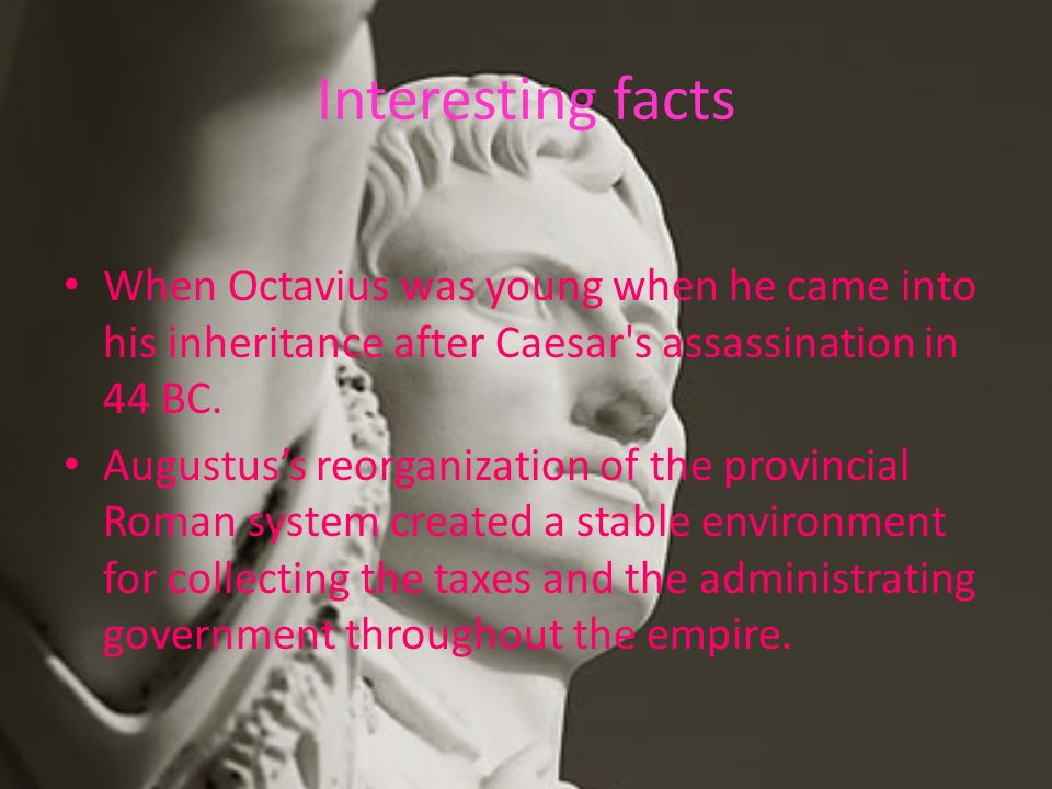 the contributions of gaius julius caesar to the roman empire Gaius julius caesar was born in july, 100 bc, and is known throughout the world as the founder of the roman empire caesar was a cunning politician, strategist and superb general popular culture would have a person believe that caesar was a brutal dictator that acted to create a tyrannical regime.