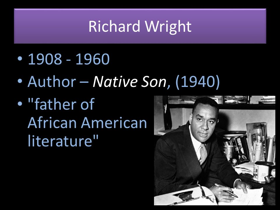 an analysis of characters in native son by richard wright Richard wright: richard wright, novelist and short-story writer who was among the first african american writers to protest white treatment of blacks, notably in his novel native son (1940) and his autobiography, black boy (1945) he inaugurated the tradition of protest explored by other black writers after world war ii.